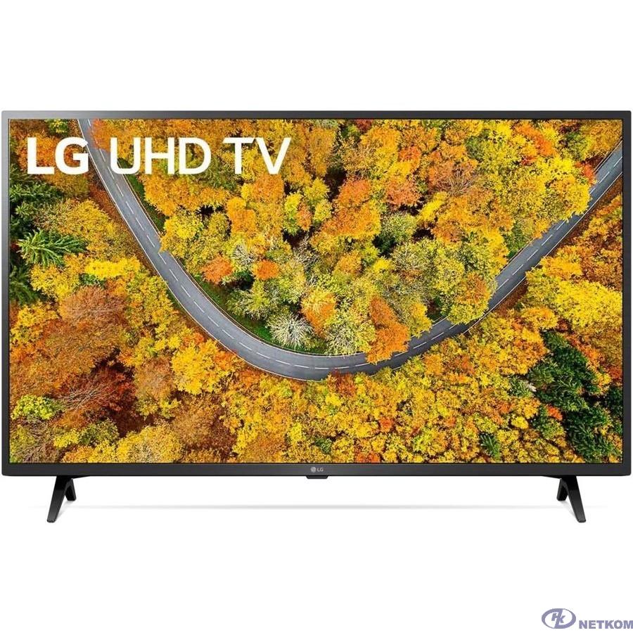"LG 43"" 43UP76006LC черный {Ultra HD/50Hz/DVB-T/DVB-T2/DVB-C/DVB-S/DVB-S2/USB/WiFi/Smart TV (RUS)}"