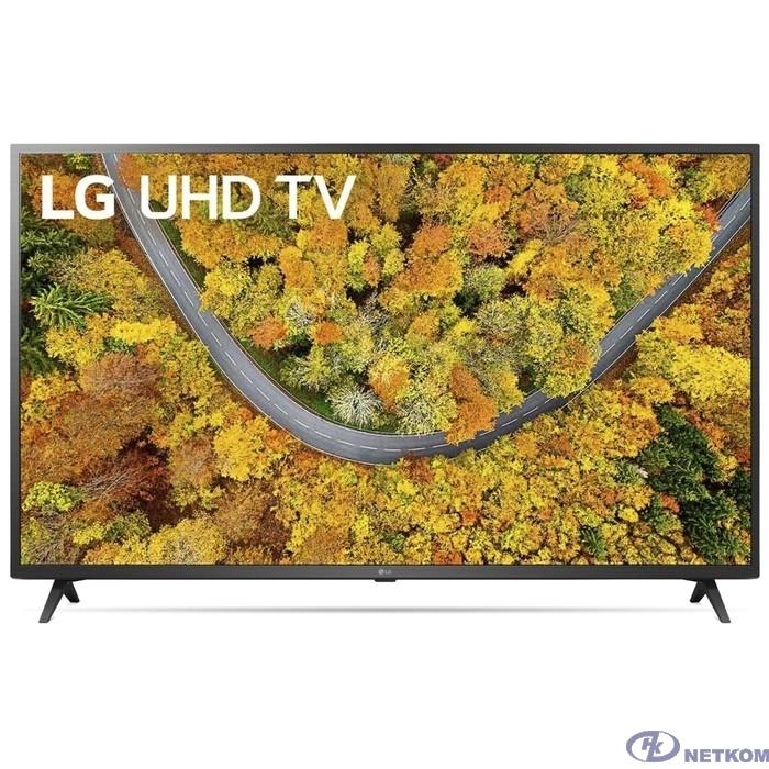 "LG 55"" 55UP76006LC черный {Ultra HD/50Hz/DVB-T/DVB-T2/DVB-C/DVB-S/DVB-S2/USB/WiFi/Smart TV (RUS)}"