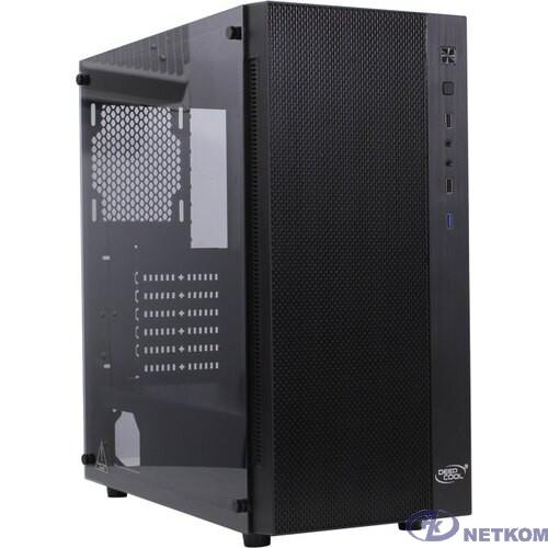 Корпус Deepcool MATREXX 55 MESH без БП, боковое окно (закаленное стекло), черный, ATX