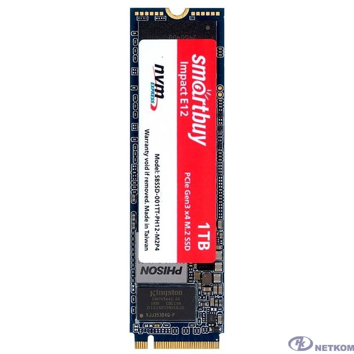 Smartbuy M.2 SSD 1Tb Impact E12 SBSSD-001TT-PH12-M2P4