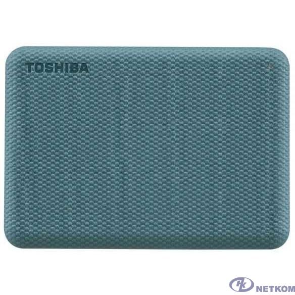 "TOSHIBA HDTCA40EG3CA Canvio Advance 4ТБ 2.5"" USB 3.0 Green"