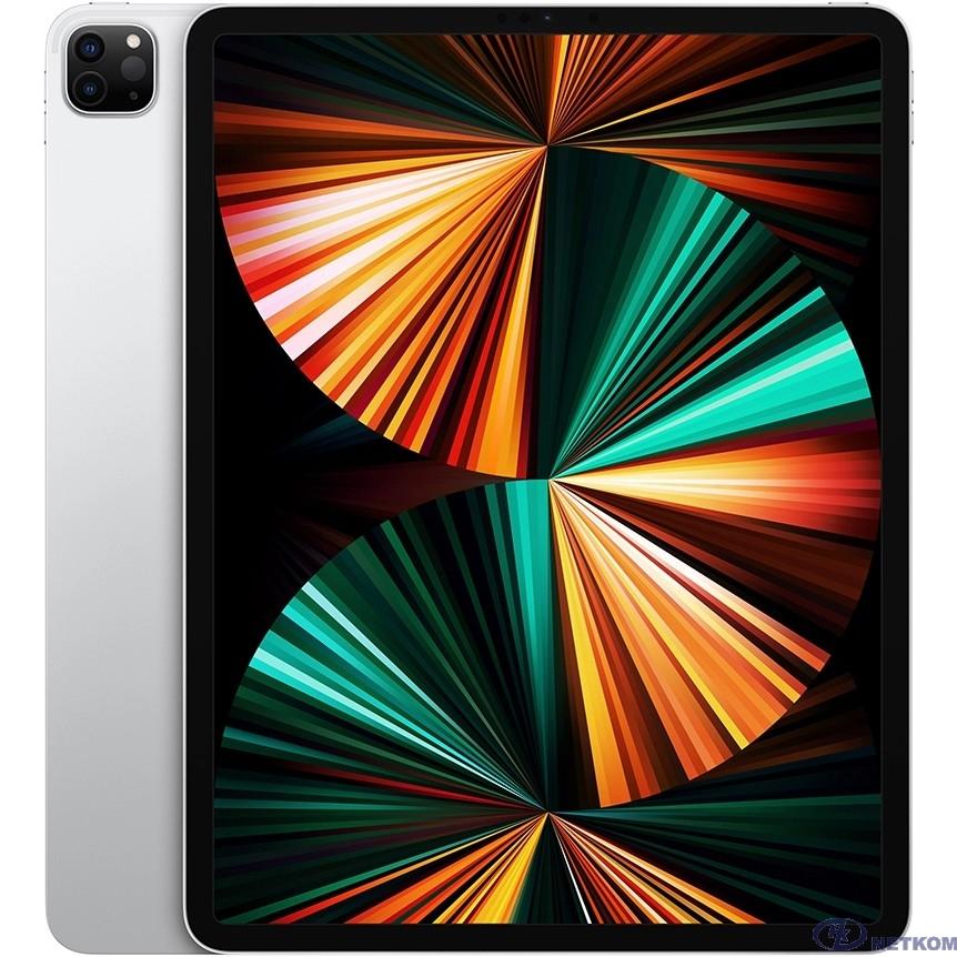 Apple iPadPro 12.9-inch Wi-Fi + Cellular 128GB - Silver [MHR53RU/A] (2021)