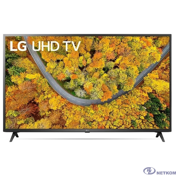 "LG 50"" 50UP76006LC черный {Ultra HD/50Hz/DVB-T/DVB-T2/DVB-C/DVB-S/DVB-S2/USB/WiFi/Smart TV (RUS)}"