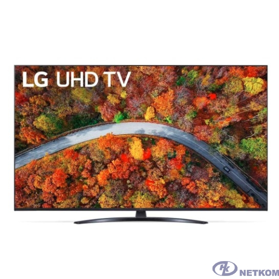 "LG 50"" 50UP81006LA черный {Ultra HD/50Hz/DVB-T/DVB-T2/DVB-C/DVB-S/DVB-S2/USB/WiFi/Smart TV (RUS)}"