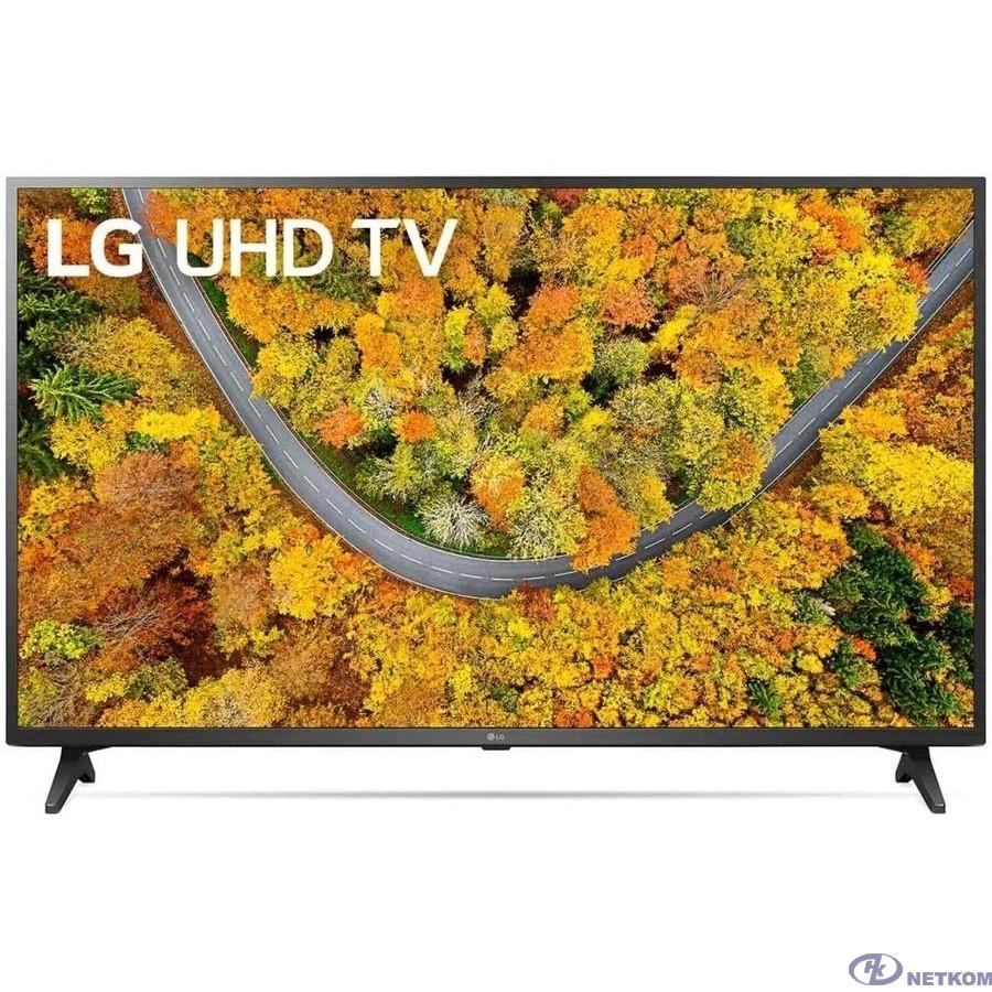 "LG 43"" 43UP75006LF черный {Ultra HD/50Hz/DVB-T/DVB-T2/DVB-C/DVB-S/DVB-S2/USB/WiFi/Smart TV (RUS)}"