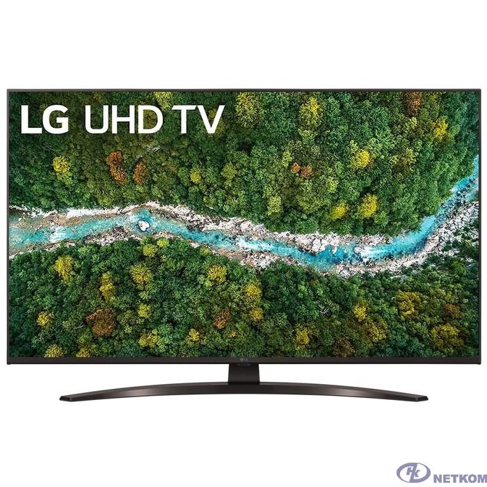 "LG 43"" 43UP78006LC черный {Ultra HD/50Hz/DVB-T/DVB-T2/DVB-C/DVB-S/DVB-S2/USB/WiFi/Smart TV (RUS)}"