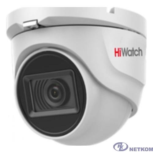 HiWatch DS-T203A 3.6-3.6мм HD-CVI HD-TVI цветная корп.:белый