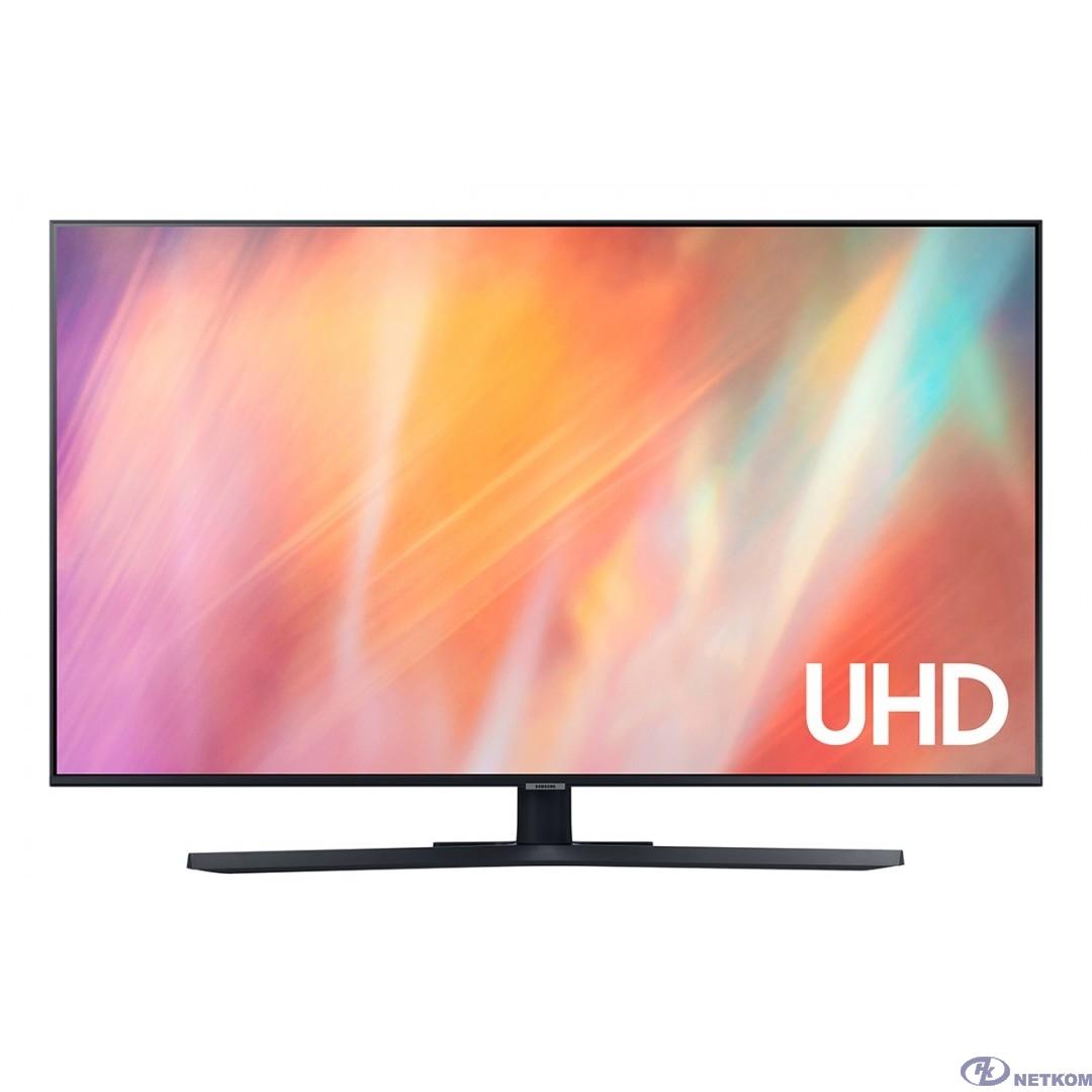 """Samsung 43"""" UE43AU7500UXRU черный {Ultra HD/60Hz/DVB-T2/DVB-C/DVB-S2/USB/WiFi/Smart TV (RUS)}"""