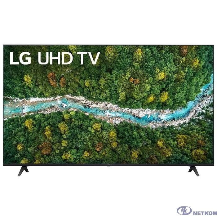 "LG 55"" 55UP77506LA черный {Ultra HD/50Hz/DVB-T/DVB-T2/DVB-C/DVB-S/DVB-S2/USB/WiFi/Smart TV (RUS)}"