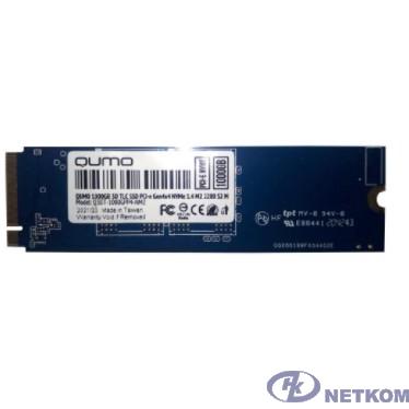 QUMO M.2 SSD 1TB PCIe Gen4x4 NVMe 1.4 Novation TLC 3D Q3DT-1000GPP4-NM2