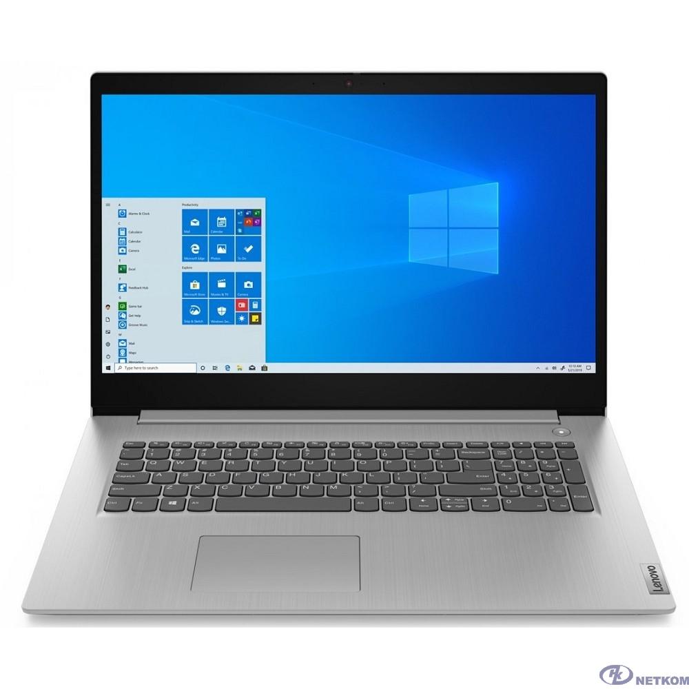 """Lenovo IdeaPad 3 15IGL05 [81WQ001NRU] Platinum Grey 15.6"""" {HD Pen N5030/8Gb/256Gb SSD/W10}"""