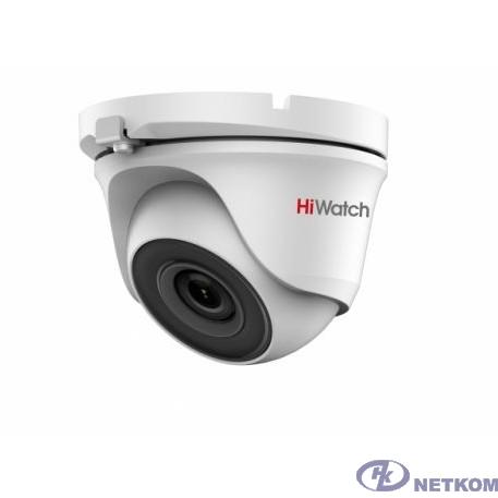 HiWatch DS-T203(B) 3.6-3.6мм Камера видеонаблюдения HD-CVI HD-TVI цветная корп.:белый