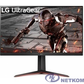 LCD LG 31.5'' 32GN650-B черный {VA 2560x1440 165Hz 5ms 178/178 350cd 8bit HDR10 2xHDMI2.0 DisplayPort1.2 AdaptiveSync FreeSync AudioOut VESA}
