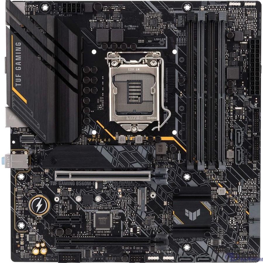 Asus TUF GAMING B560M-E {Soc-1200 Intel B560 4xDDR4 mATX AC`97 8ch(7.1) 2.5Gg+HDMI+DP}