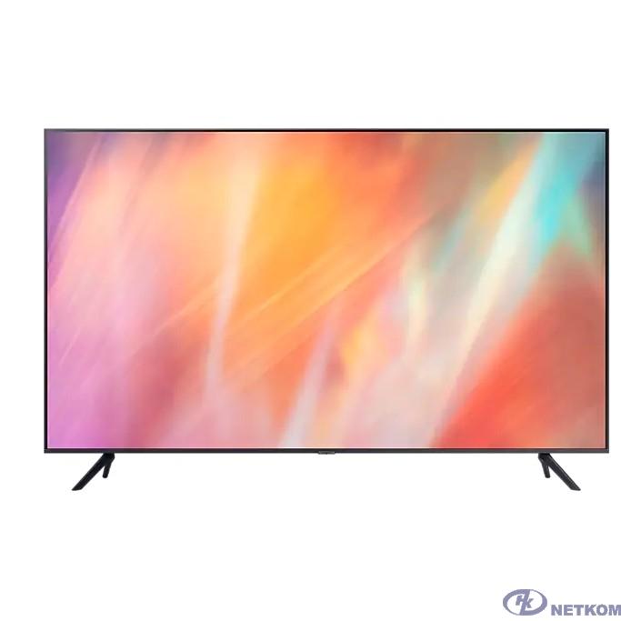 "Samsung 55"" UE55AU7100UXRU титан {Ultra HD/60Hz/DVB-T2/DVB-C/DVB-S2/USB/WiFi/Smart TV (RUS)}"