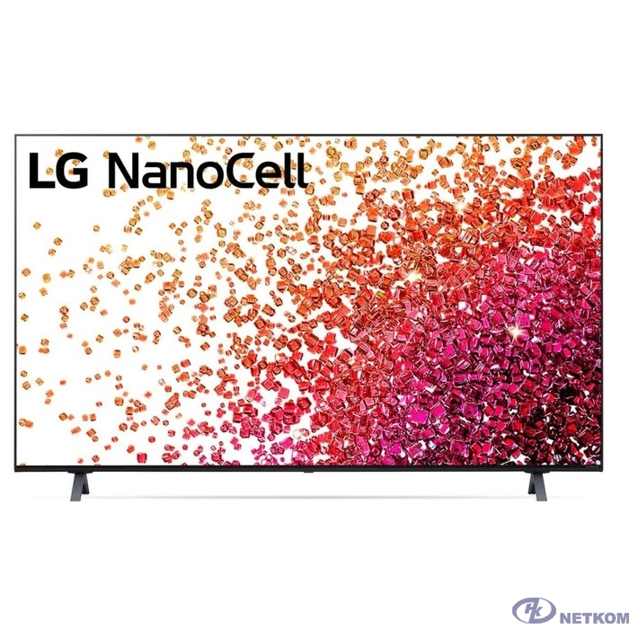 "LG 50"" 50NANO756PA NanoCell черный {Ultra HD/50Hz/DVB-T/DVB-T2/DVB-C/DVB-S/DVB-S2/USB/WiFi/Smart TV (RUS)}"