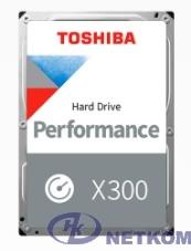 """8TB Toshiba X300 (HDWR480UZSVA) {SATA 6.0Gb/s, 7200 rpm, 256Mb buffer, 3.5""""}"""