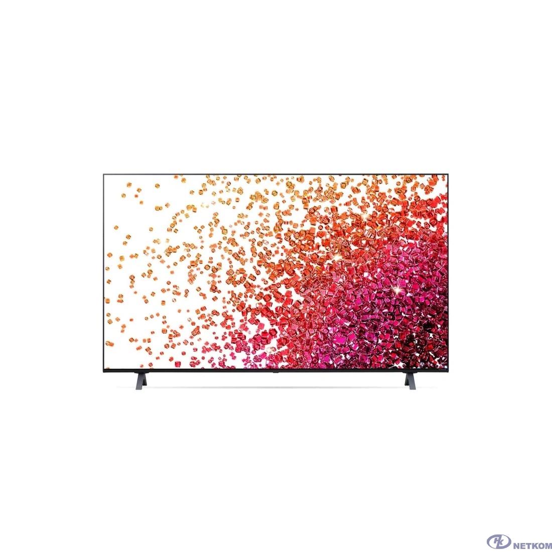 "LG 55"" 55NANO756PA NanoCell черный {Ultra HD/50Hz/DVB-T/DVB-T2/DVB-C/DVB-S/DVB-S2/USB/WiFi/Smart TV (RUS)}"