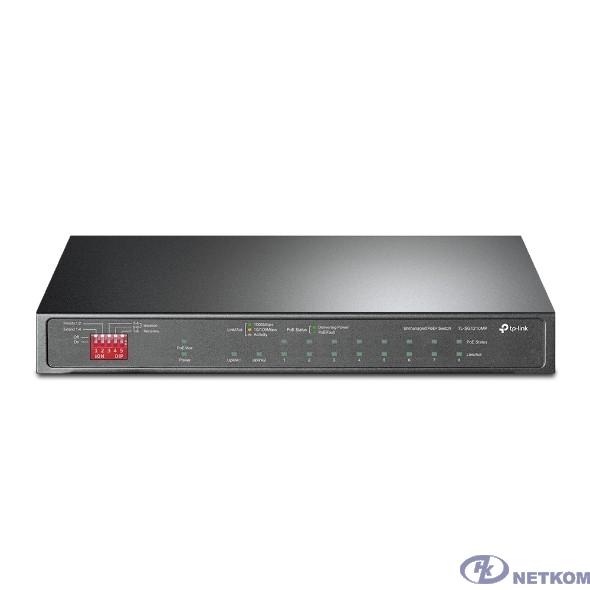 TP-Link TL-SG1210MP 10-портовый гигабитный настольный коммутатор на 8 портов PoE+