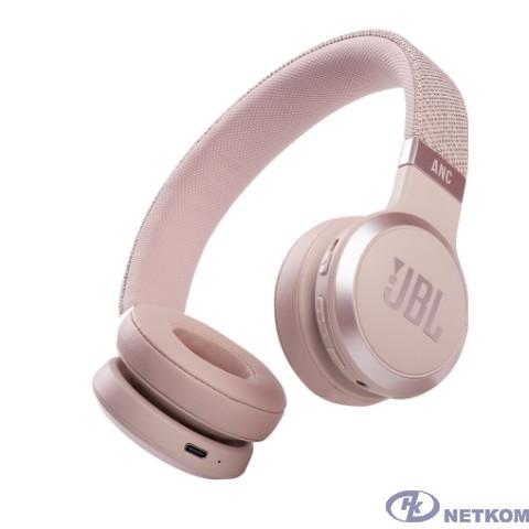 JBL Наушники беспроводные JBL Live 460 ANC, розовые