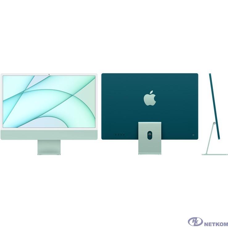 "Apple iMac [MGPJ3RU/A] Green 24"" Retina 4.5K {M1 chip with 8 core CPU and 8 core/8GB/512GB SSD/LAN} (2021)"