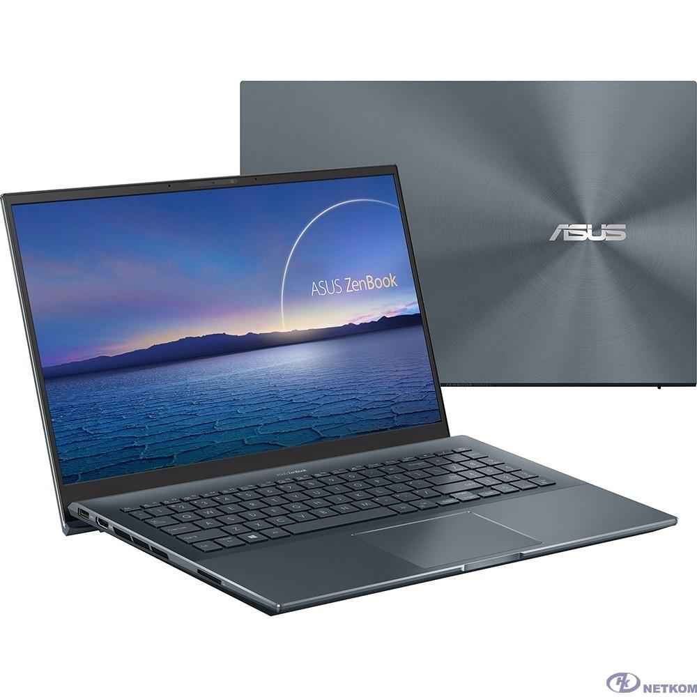 """ASUS Zenbook 15 UX535LI-BN168T [90NB0RW2-M04140] Pine Grey 15.6"""" {FHD i5-10300H/16Gb/1Tb SSD/GTX1650Ti 4Gb/W10}"""