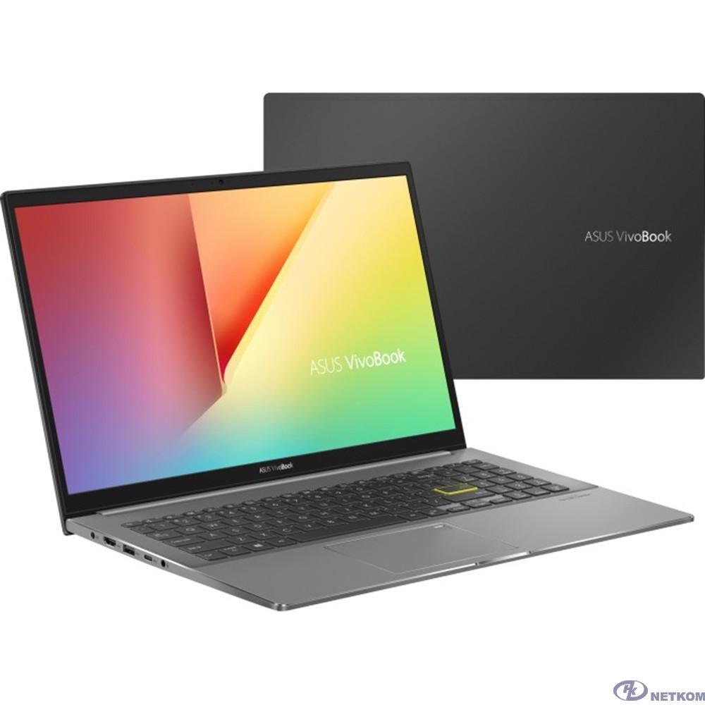"""ASUS VivoBook S15 S533EA-BN241T [90NB0SF3-M04690] Black 15.6"""" {FHD i5-1135G7/8Gb/512Gb SSD/W10}"""