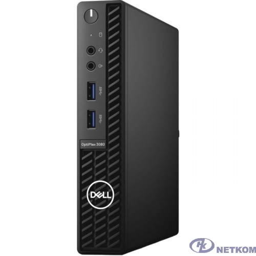DELL Optiplex 3080 [3080-9889] Micro {i3-10105T/8Gb/256Gb SSD/W10Pro/k+m}
