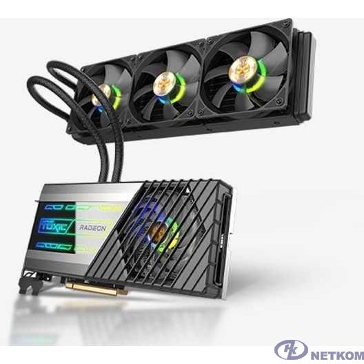Видеокарта Sapphire PCI-E 4.0 11308-06-20G RX 6900 XT GAMING OC LIMITED EDITION TOXIC AMD Radeon RX 6900XT 16384Mb 256 GDDR6 2135/16000/HDMIx1/DPx3/HDCP Ret