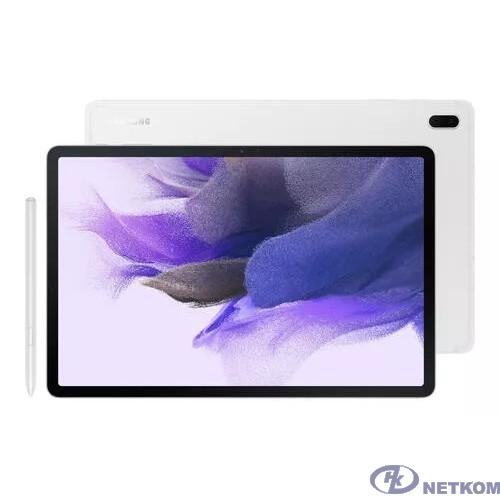 "Samsung Galaxy Tab S7 FE SM-T735 Snapdragon 750G (2.2) 6Gb/128Gb 12.4"" серебро [SM-T735NZSESER]"