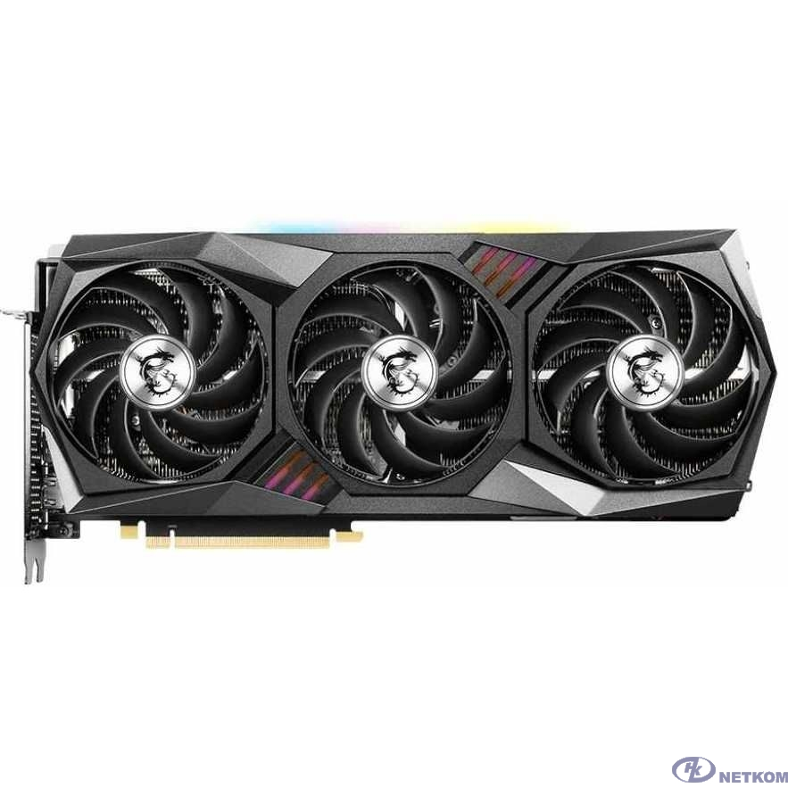 Видеокарта MSI PCI-E 4.0 RTX 3080 GAMING Z TRIO 10G LHR NVIDIA GeForce RTX 3080 10240Mb 320 GDDR6X 1830/19000/HDMIx1/DPx3/HDCP Ret