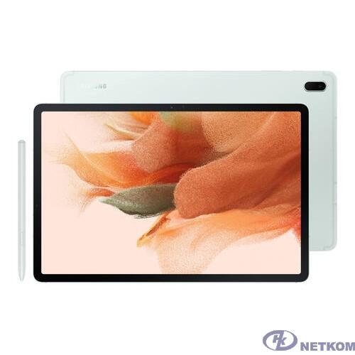 """Samsung Galaxy Tab S7 FE SM-T735 Snapdragon 750G (2.2)6Gb/128Gb 12.4"""" зеленый [SM-T735NLGESER]"""