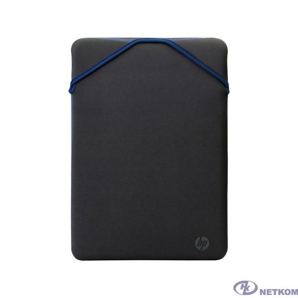 Чехол для ноутбука  HP Protective Reversible 15.6 Black/Blue Laptop Sleeve