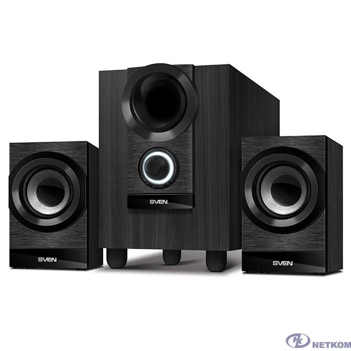SVEN MS-150, чёрный {акустическая система 2.1, мощность(RMS): 8 Вт 2х3.5 Вт}