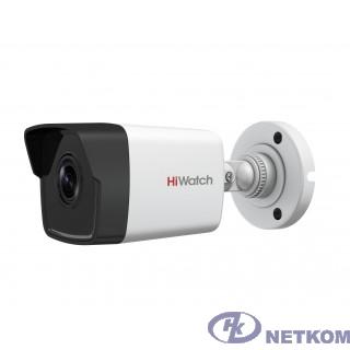 HiWatch DS-I400(C) (2.8 mm) Видеокамера IP 2.8-2.8мм цветная корп.:белый
