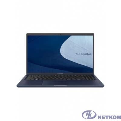 """ASUS B1500CEPE-BQ0096 [90NX0411-M01240] Star Black 15.6"""" {FHD i7-1165G7/16Gb/1Tb SSD/MX330 2Gb/DOS}"""