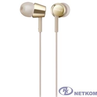 Sony MDR-EX155 1.2м золотистый проводные в ушной раковине (MDREX155NG.E)