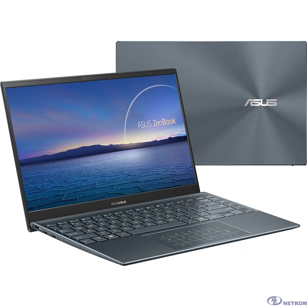 """ASUS UX425EA-KI391R [90NB0SM1-M10390] Pine Grey 14"""" {FHD i5-1135G7/16Gb/512Gb SSD/W10Pro}"""