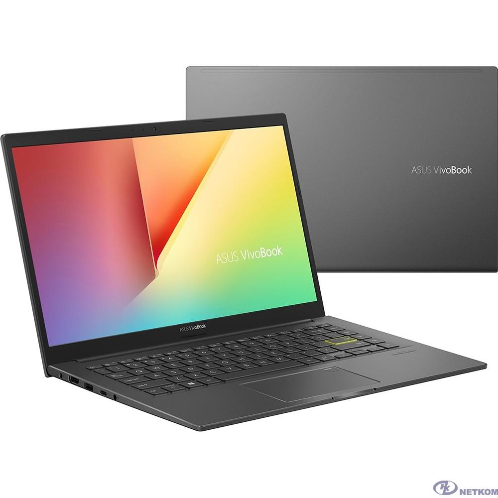 """ASUS VivoBook X413JA-EB316 [90NB0RC7-M04360] Bespoke Black 14"""" {FHD i5-1035G1/8Gb/256Gb SSD/DOS}"""