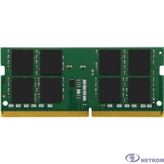 Kingston DDR4 SODIMM 32GB KVR32S22D8/32 PC4-25600, 3200MHz, CL22