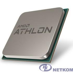 CPU AMD Athlon 300GE OEM (YD30GEC6M2OFH) {(3.4GHz,5MB,35W,AM4) tray, with Radeon Vega Graphics}