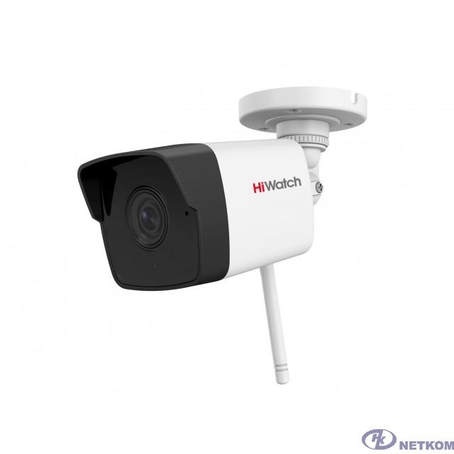 HiWatch DS-I250W(C)(2.8 mm) Видеокамера IP 2.8-2.8мм цветная корп.:белый