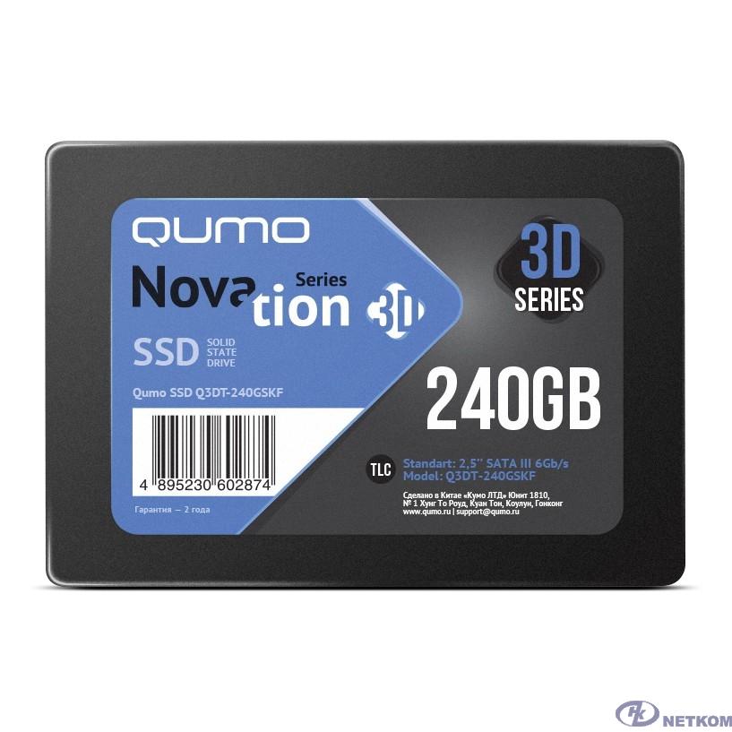 QUMO SSD 240GB QM Novation Q3DT-240GSKF {SATA3.0}