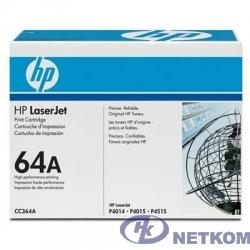 HP CC364A Картридж ,Black{LJ P4014/4015/4515, Black, (10000стр.)}