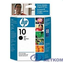 HP C4844A Картридж №10, Black {DJ 2000c/2500c/2200/2250/DJ 500/ps/800/ps, Black (69ml)}