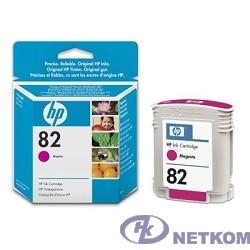 HP C4912A Картридж №82, Magenta {DesignJet 500/800, Magenta (69 ml)}