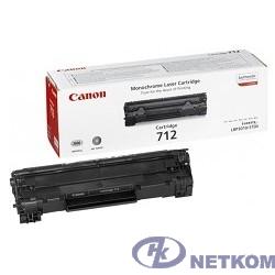 Canon Cartridge 712 1870B002/1870A002  Картридж для LBP-3010/3100, Черный, 1500стр. (GR)