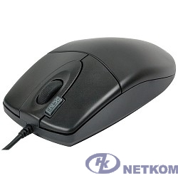 A-4Tech Мышь OP-620D B/U1 (черный) USB, пров. опт. мышь, 3кн, 1кл-кн [85694]