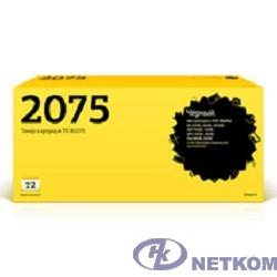 T2 TN-2075 Картридж (TC-B2075) для Brother HL-2030R/2040R/2070NR/DCP-7010R/7025R (2500 стр.)