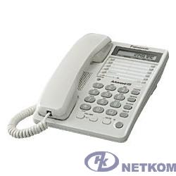 Panasonic KX-TS2362RUW (белый) {16зн ЖКД, однокноп.набор 20 ном.}